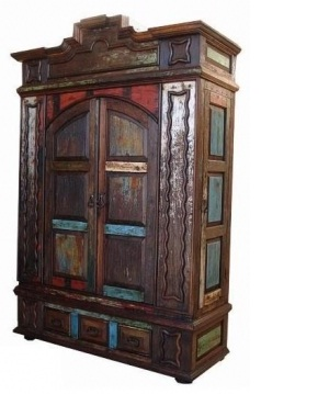 Gringo Furniture Reclaimed Wood Designer Armoire