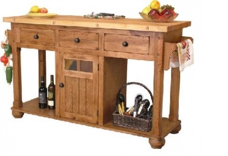 Gringo Furniture large kitchen island