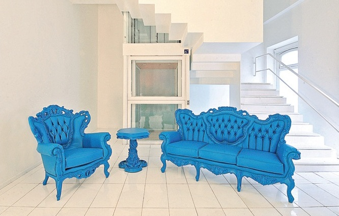 Rococo Blue Outdoor Gringo Furniture