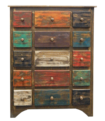 Madras Antiqued Chest of Drawers