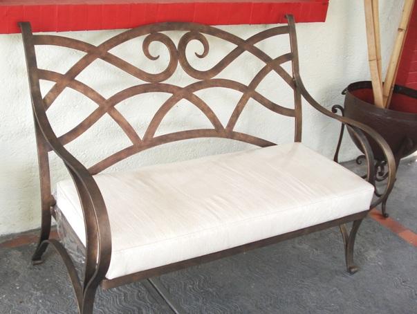 rot iron furniture