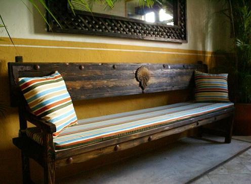 Simple Antique Bench
