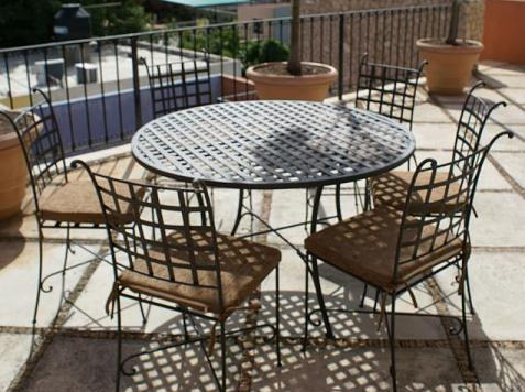 Awe Inspiring Wrought Iron Camellatalisay Diy Chair Ideas Camellatalisaycom