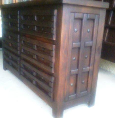 Hacienda Indian Dresser
