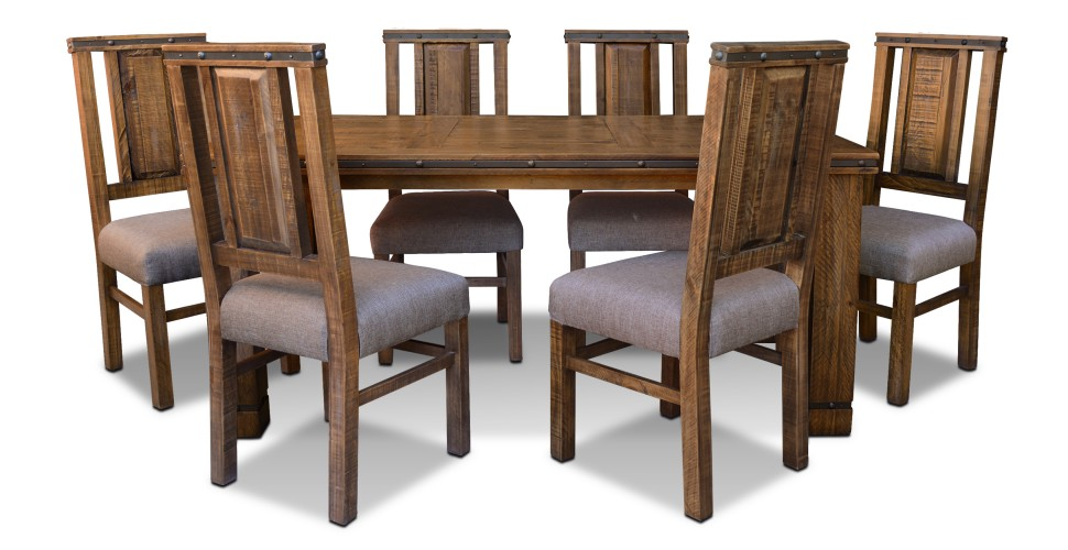 simple rustic hacienda dining room suite - Rustic Dining Set