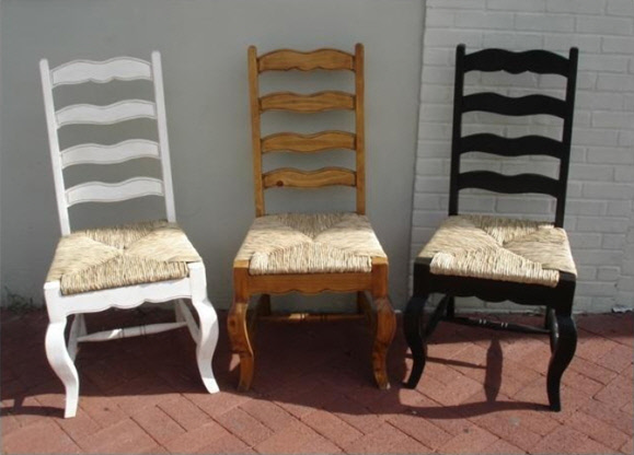 Van Gogh Chair Made Of Natural Weave