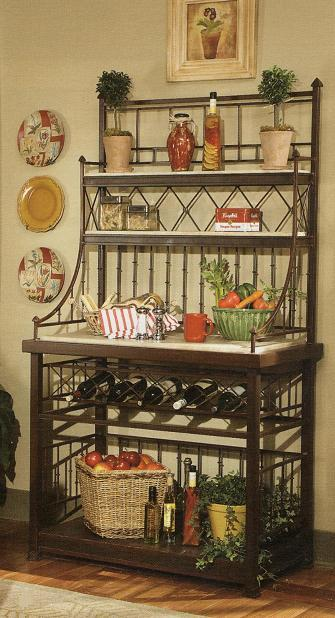 Kitchen : Classic Bakers Rack