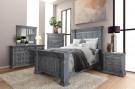 restoration bedroom suite grey