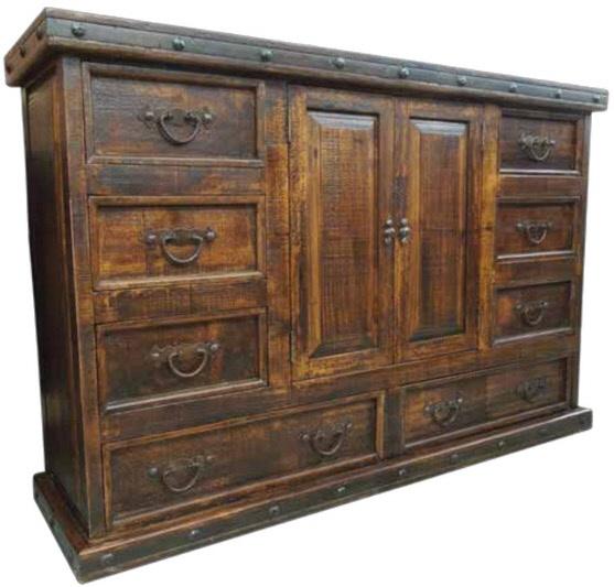 Hacienda Tudor Master Dresser
